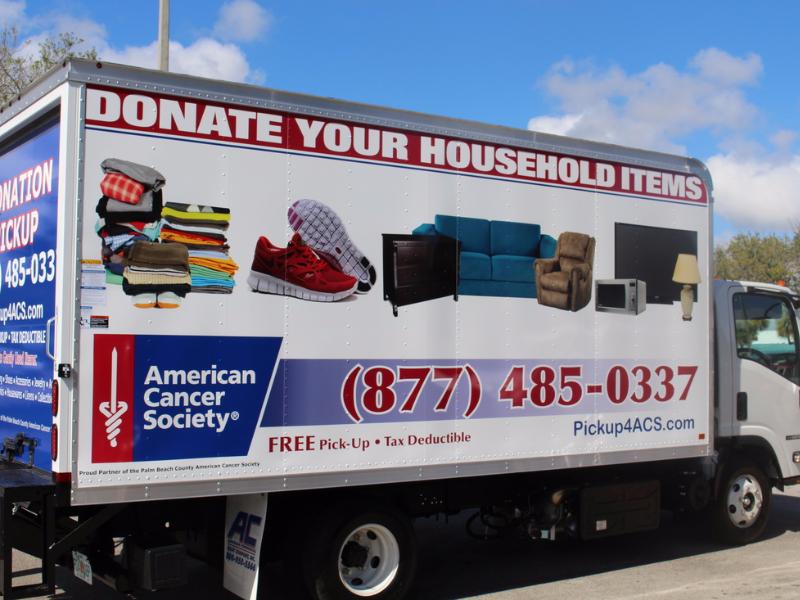 Clothing Donation Pickup Service - North Palm Beach, Florida